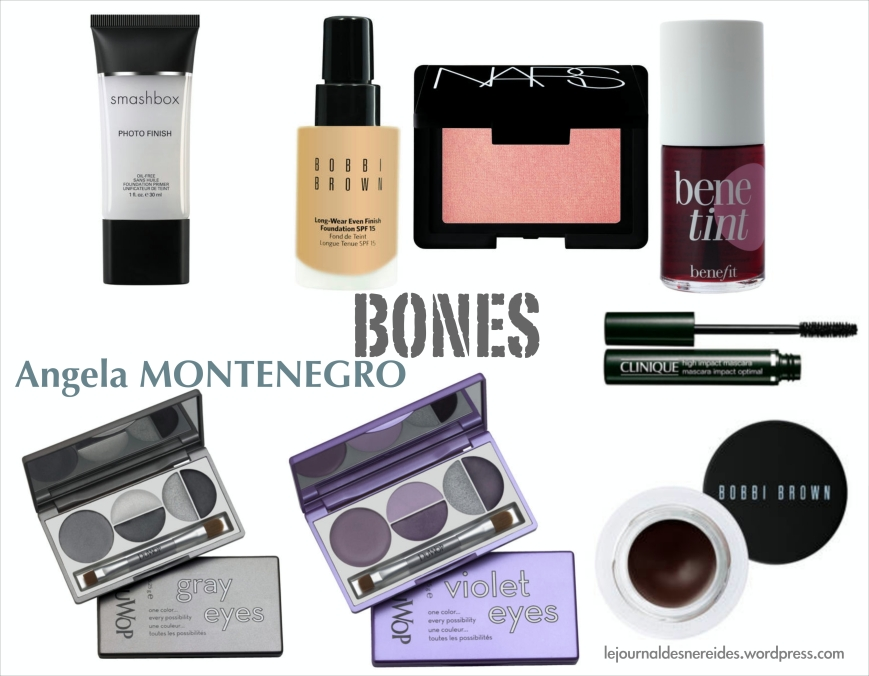 BONES MAKEUP JOURNAL DES NEREIDES