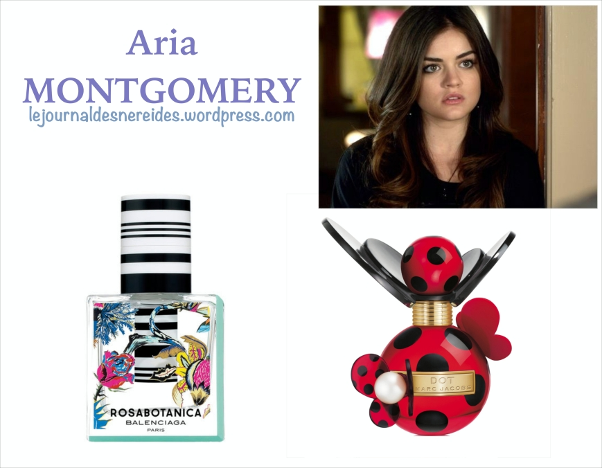 Pretty Little Liars ARIA MONTGOMERY parfum FRAGRANCE