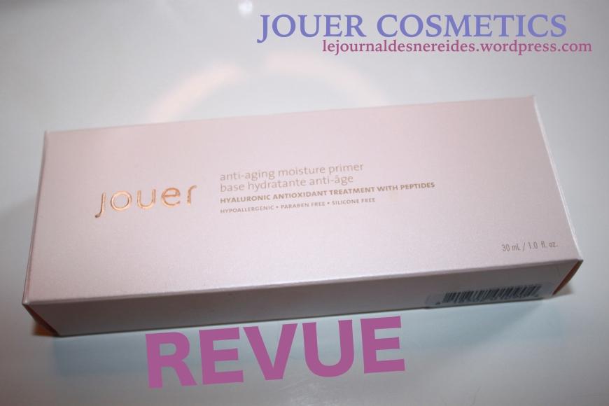 JOUER COSMETICS FRANCE REVIEW AVIS