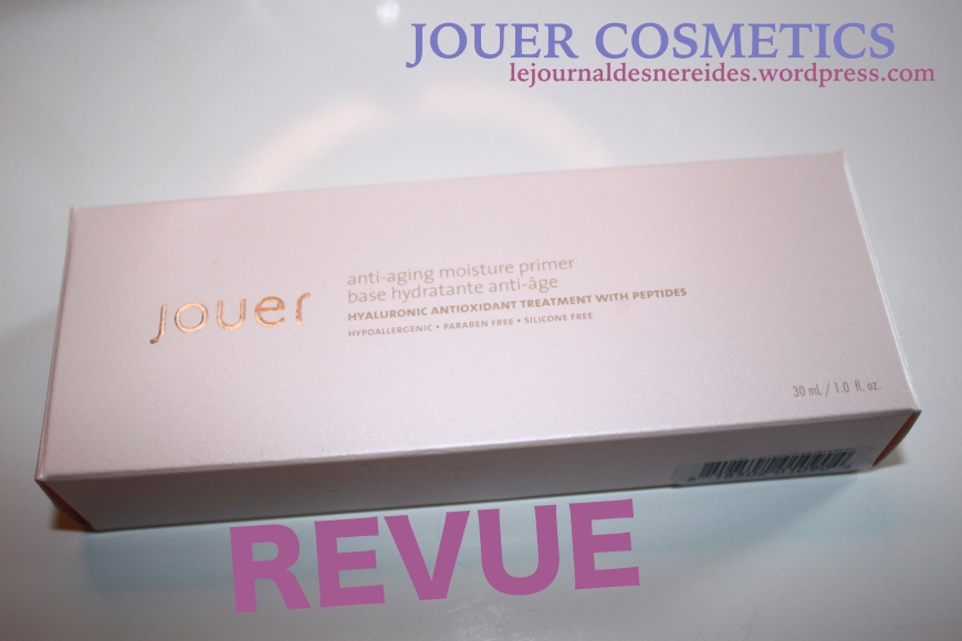 JOUER COSMETICS FRANCE REVIEW AVIS
