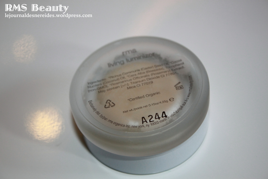 RMS BEAUTY LIVING LUMINIZER SWATCH REVIEW