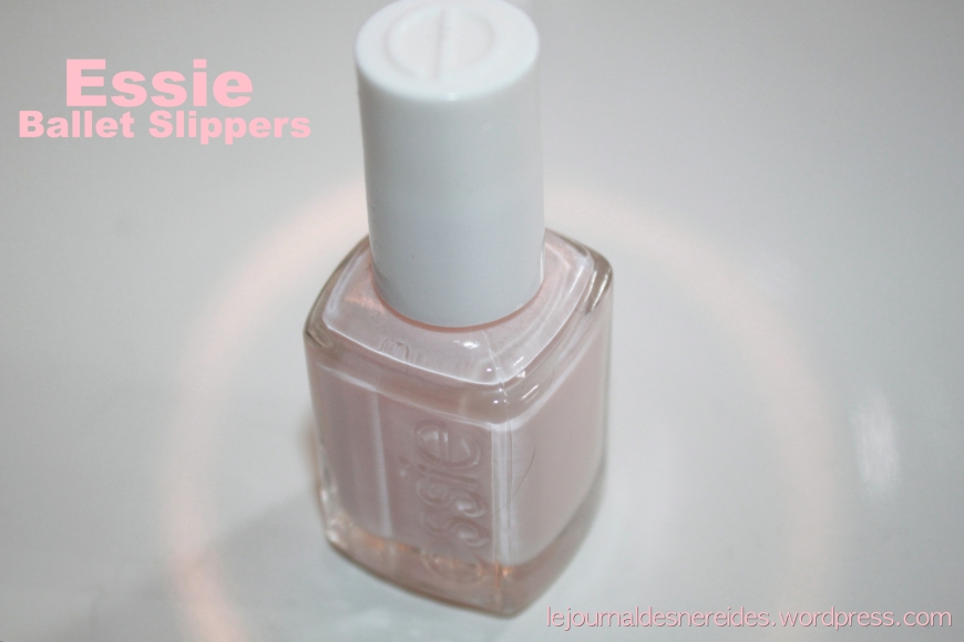 ESSIE BALLET SPLIPPERS REVIEW SWATCHES