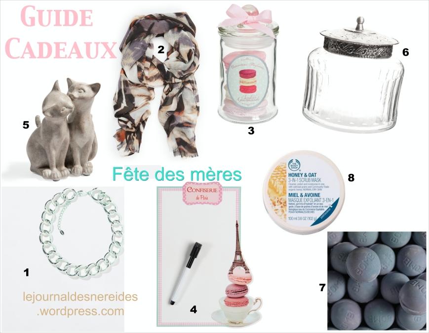 FETE DES MERES 2014 GUIDE CADEAUX