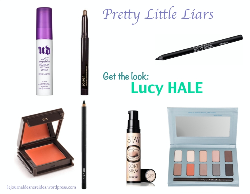 Le journal des Néréides Lucy HALE Maquillage