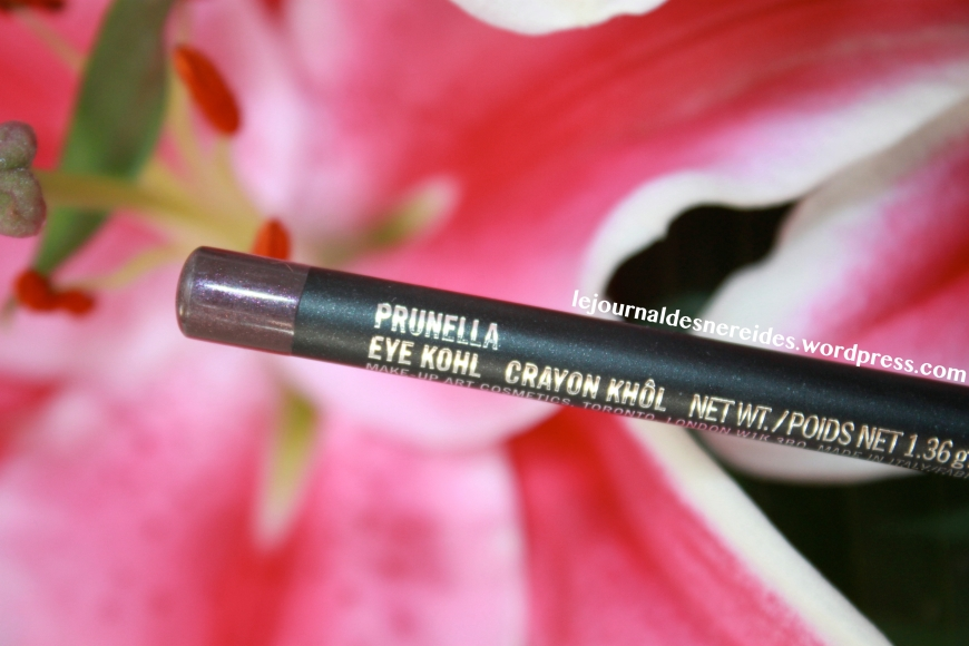 MAC EYE HHOL PRUNELLA REVIEW SWATCHE