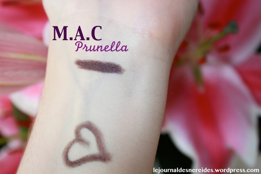 MAC PRUNELLA SWATCH