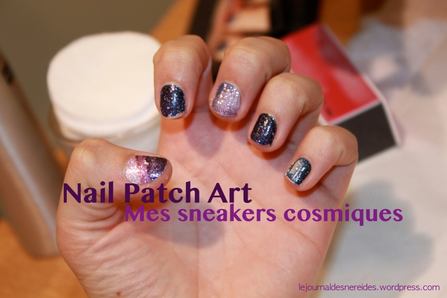 SEPHORA NAIL PATCH ART MES SNEAKERS COSMIQUES