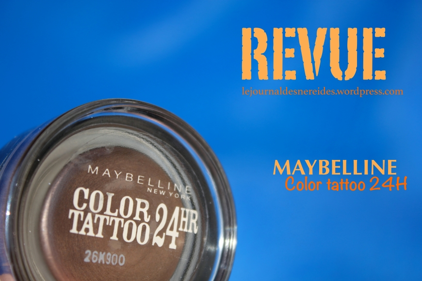 MAYBELLINE COLOR TATTOO REVUE