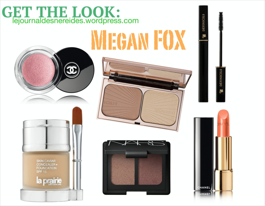 MEGAN FOX MAQUILLAGE