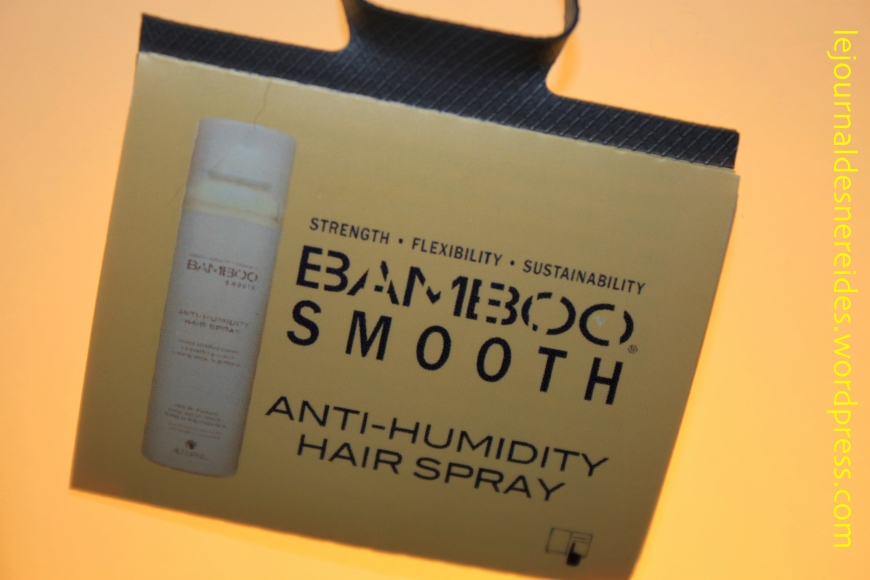 ALTERNA BAMBOO SMOOTH REVIEW