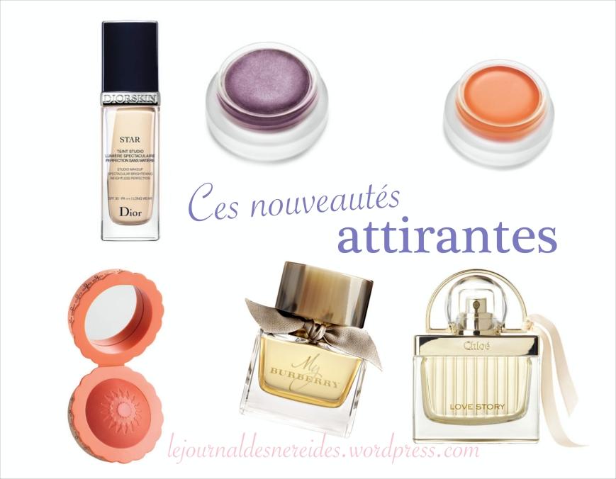 Nouveautés Beauté Automne 2014  le journal des Nereides